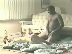 Hot wife missionary fucked and seeded by black bull